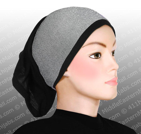 Sparkle Hijab Headband in #1 Silver - MiddleEasternMall