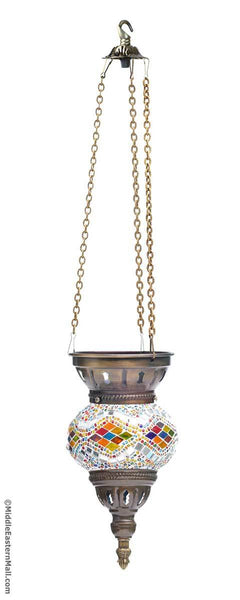 Turkish Mosaic Hanging Light Fixture