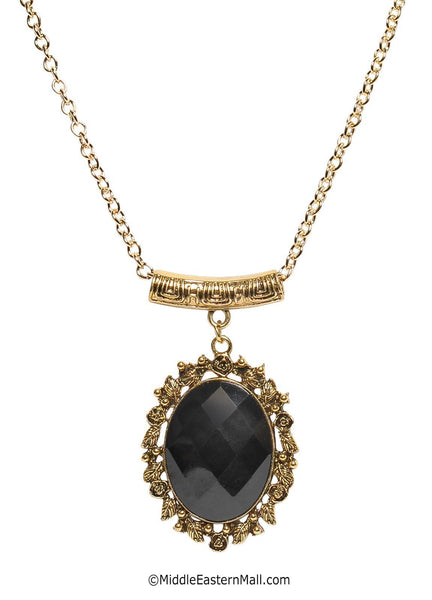 Victorian Oval Necklace