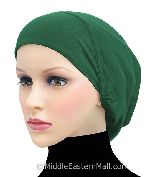 Cotton Snood Large Khatib Underscarf Hijab Cap Available  in 18 Colors