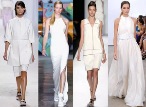 Monochrome Style: White-On-White