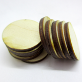 1.5 inch diameter Plywood Miniature Bases
