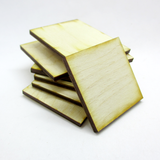 1.5 x 1.5 inch Plywood Miniature Bases
