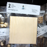 100mm x 100mm Plywood Miniature Bases