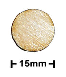 15mm Diameter Plywood Miniature Bases