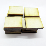 15mm x 20mm Plywood Miniature Bases