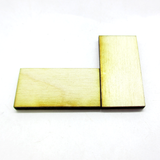 15mm x 30mm Plywood Miniature Bases