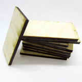 1 x 2 inch Plywood Miniature Bases