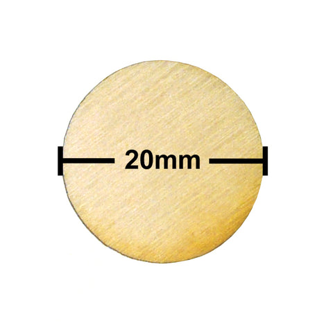 20mm Diameter Plywood Miniature Bases