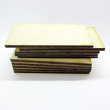 25mm x 60mm Plywood Miniature Bases