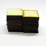 25mm x 25mm Plywood Miniature Bases