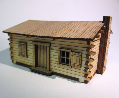 28mm Early American Cabin