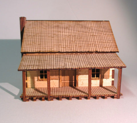 28mm Early American Town House
