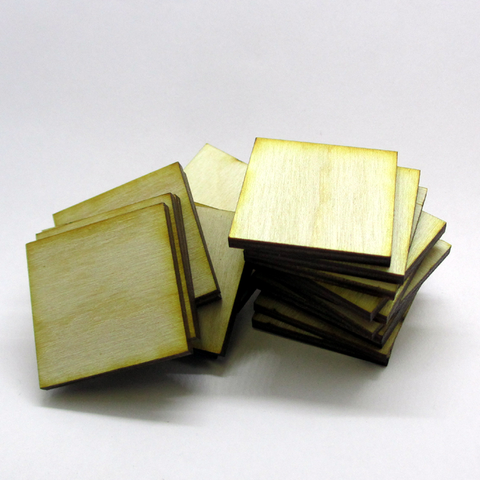 30mm x 30mm Plywood Miniature Bases