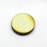 0.75 inch diameter Plywood Miniature Bases