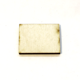 0.75 x 1 Inch Plywood Miniature Bases