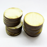 1 inch diameter Plywood Miniature Bases