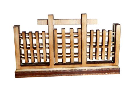 Japanese Type 3 Fence Gate Section (x2)