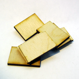 20mm x 30mm Plywood Miniature Bases