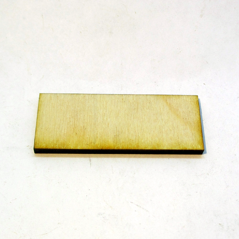 20mm x 50mm Plywood Miniature Bases