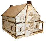28mm Early American Brick House