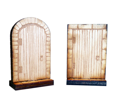 1 Inch Wide Closed Doors