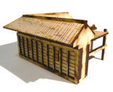 28mm Japanese Wooden Wall Corner Section