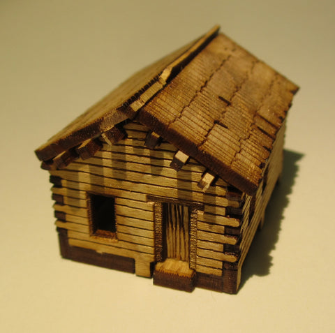 Early American Small Cabin