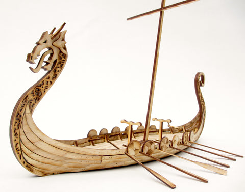 28mm Viking Longship