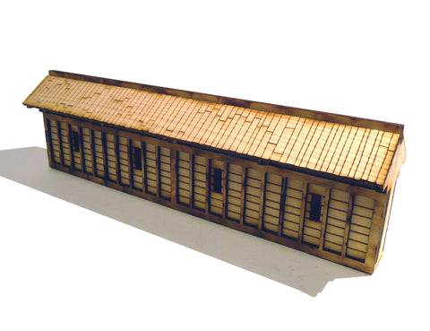 28mm Japanese Wooden Wall Long Sections