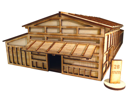 28mm Japanese Merchant Building