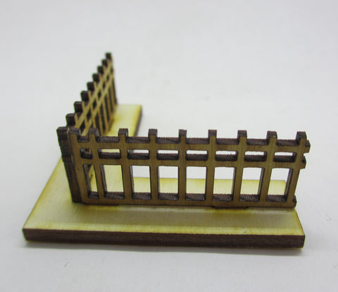 Japanese Stockade Fencework Corner Section (x5)