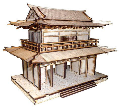 28mm Japanese Small Temple Gate