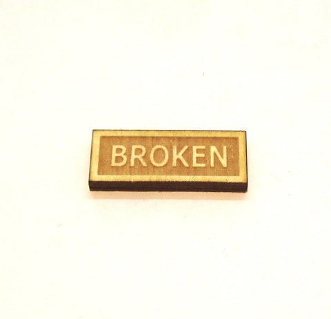Broken Tokens