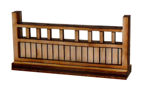 Japanese Type 2 Fence Wall Section (x4)