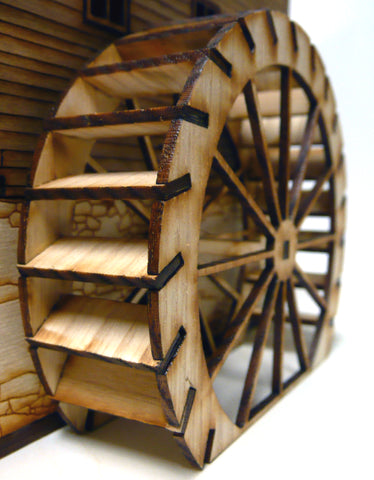 28mm Mill Water Wheel