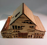 28mm Early American War Torn Building