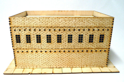 28mm Warehouse District Large  Building