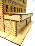 28mm Warehouse District Large Garage Front