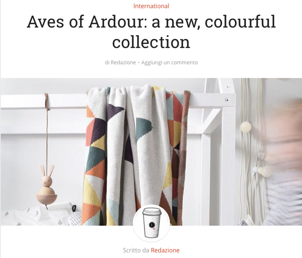 Aves of Ardour: a new, colourful collection Ardour Wolf Design Italian Magazine House Mag