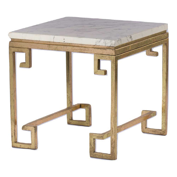 CLEOPATRA MARBLE SIDE TABLE
