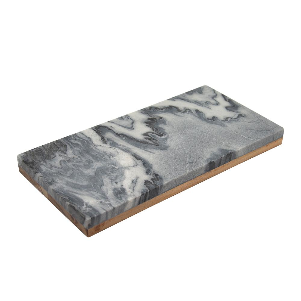 ATLANTIS SERVING BOARD 18X35CM GREY