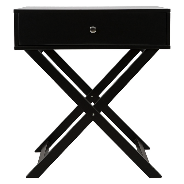CROSS SIDE CONSOLE BLACK