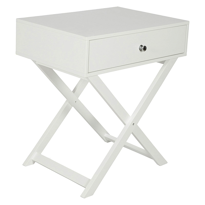 CROSS SIDE CONSOLE WHITE