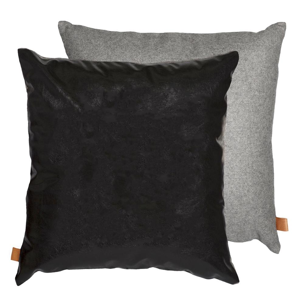 PARKER CUSHION 50CM BLACK/GREY