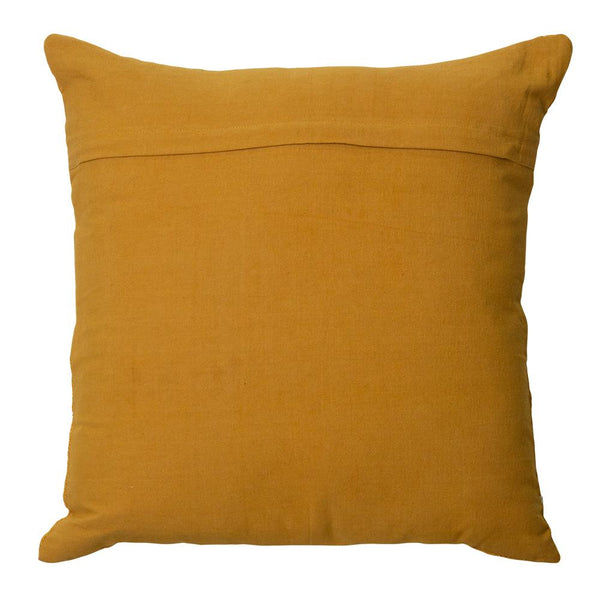 SUTTON CUSHION 50X50CM MUSTARD