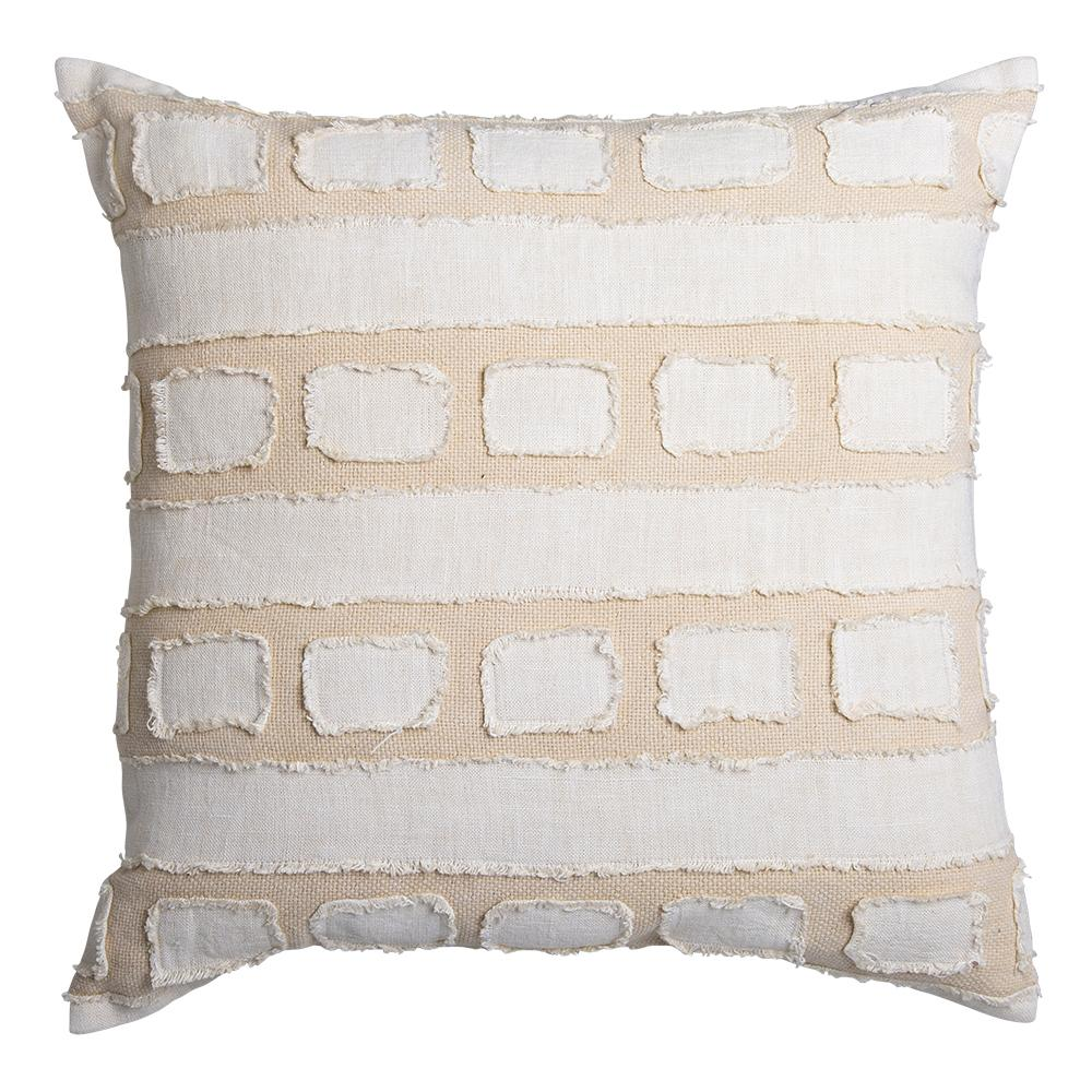 TANDALL CUSHION 50X50CM IVORY / NATURAL
