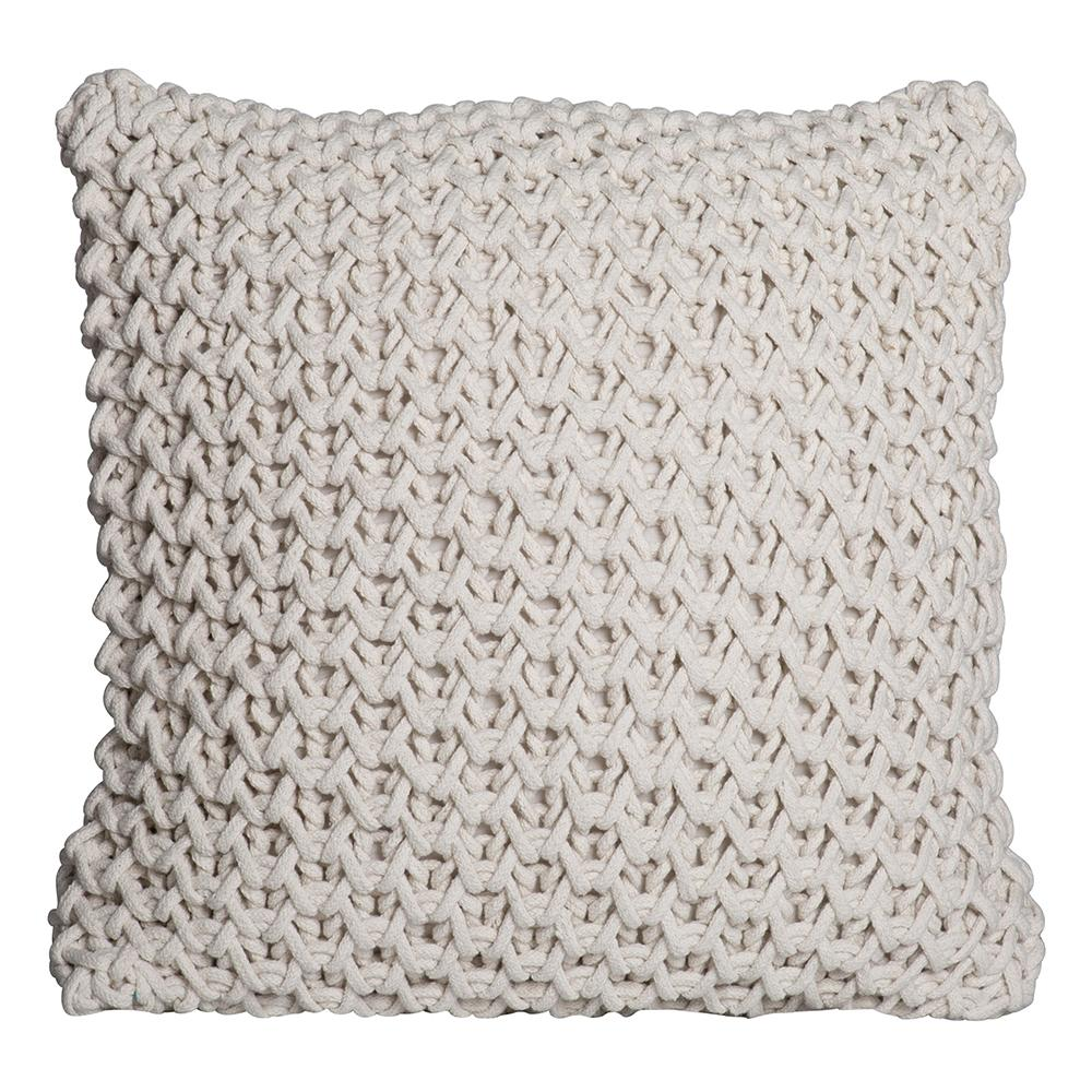 ZARA CUSHION ardour wolf design homewares home decor cushion throw IVORY