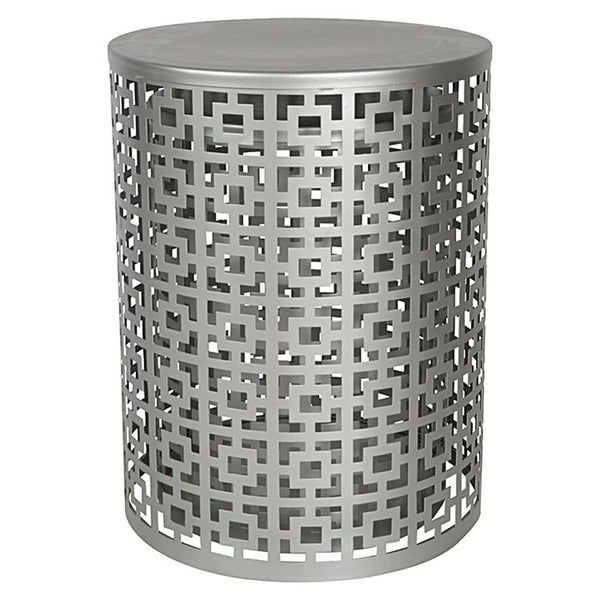 TEMARA STOOL STANDS SILVER - Set of Two