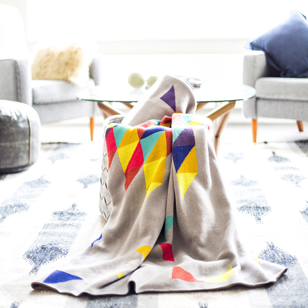 Sparrow 100% Cotton Throw Aves of Ardour Ardour Wolf Design